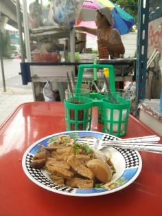 Don't ask, just eat. Bangkok, Thailand